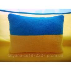 Флаг Украины, подушка флаг маленькая 30х20см