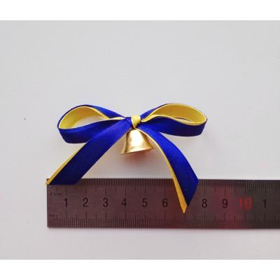 Колокольчики для  школ с сине-жёлтой лентой
