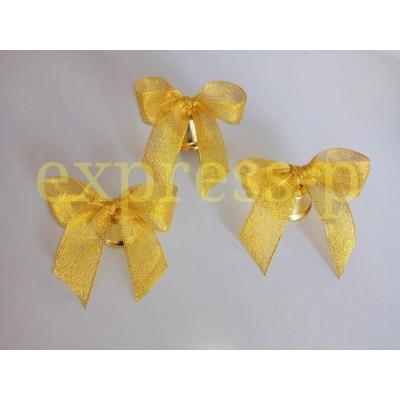 Колокольчики для первоклассников с золотой лентой