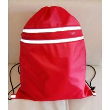 Рюкзак-мешок для обуви, формы, красный
