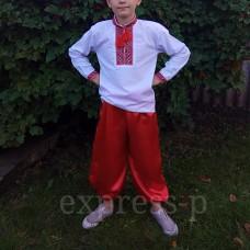 Украинские шаровары для мальчика 4-16 лет