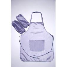 Фартук для труда и творчества 5-12лет, серый.