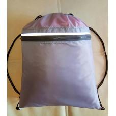 Водонепроницаемый мешок для сменной обуви, одежды, серый