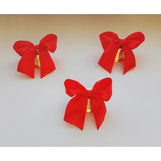 Колокольчики для выпускников, на 1 сентября, красный