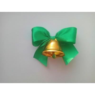 Колокольчики для выпускников, первоклассников, зелёный