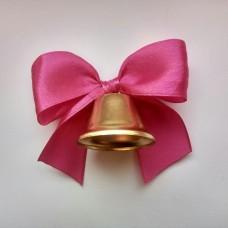 Колокольчики для выпускников, первоклассников, розовый