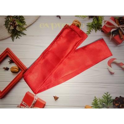 Кушак, пояс для шаровар 250см. Красный.